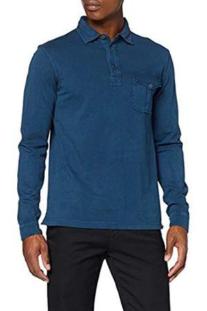 HKT BY HACKETT Hackett London Men's Hkt Sueded Ls Polo Shirt