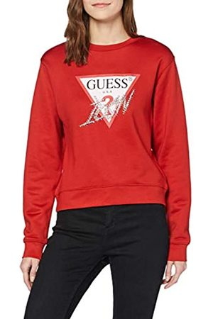 Guess Women's Basic Triangle Fleec Hooded Sweatshirt