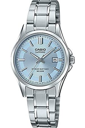 Casio Womens Analogue Quartz Watch with Stainless Steel Strap LTS-100D-2A1VEF