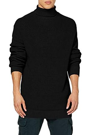 Urban classics Men's Cardigan Stitch Roll Neck Sweater Jumper