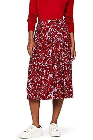 FIND Women's Print Pleated Skirt