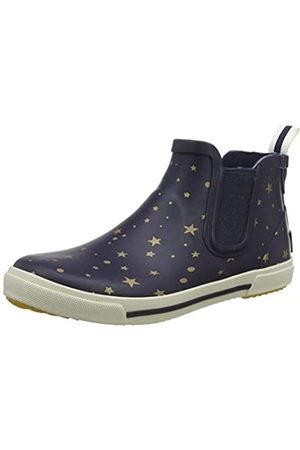 Joules Girl's Rainwell Wellington Boots, (Star Gazing)