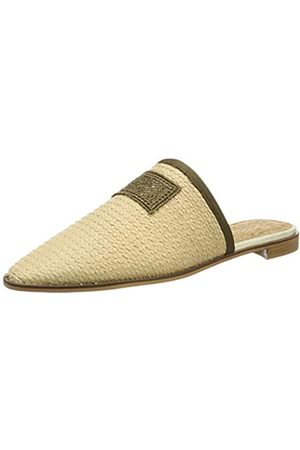 SCOTCH & SODA FOOTWEAR Women's Kalin Mules, (Nature S23)