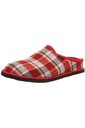 Fargeot Unisex Adults Saxon Low-Top Slippers, (Rot 7620030)