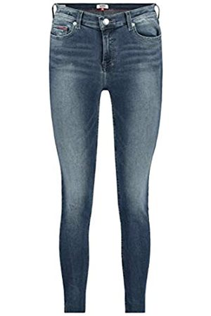 Tommy Jeans Women's Nora MID Rise Skinny Ankle DLYDK Straight Jeans