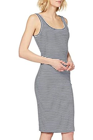 Tommy Jeans Women's TJW Rib Tank Bodycon Dress, (Twilight Navy/ 0Ze)