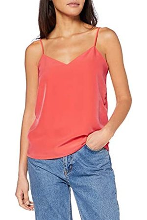 Scotch & Soda Women's Jersey Tank Top with Woven Front Panel Vest