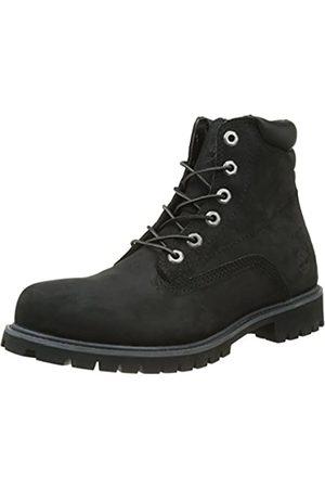 Timberland Men's 6 Inch Basic Alburn Waterproof Lace-up Boots, ( Nubuck)