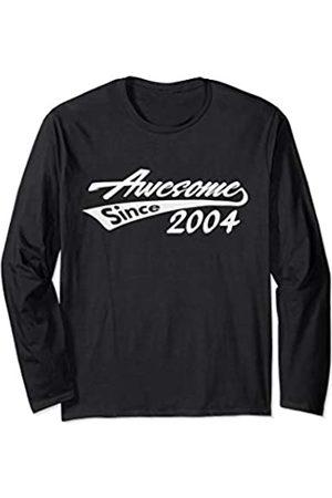 Birthday Gift Birth Year Novelty Themed Men/'s T-Shirt FABULOUS SINCE 2004