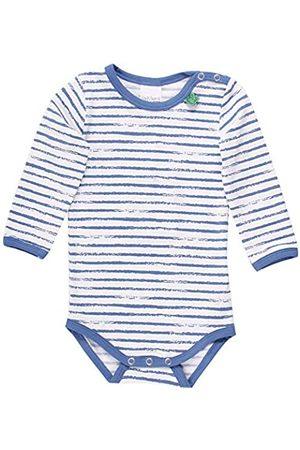 Fred's World by Green Cotton Baby Boys' Ocean Stripe Body Shaping Bodysuit