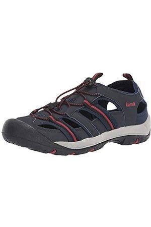 Kamik Men's Byronbay Closed Toe Sandals, (Navy Nav)