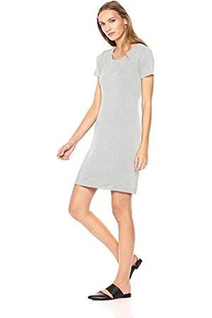 Daily Ritual Amazon Brand - Women's Jersey Short-Sleeve Scoop Neck T-Shirt Dress
