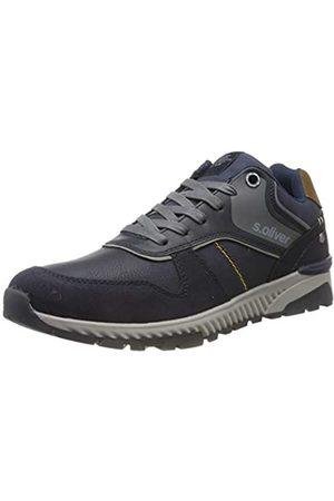 s.Oliver Men's 5-5-13618-23 Low-Top Sneakers, (Navy 805)