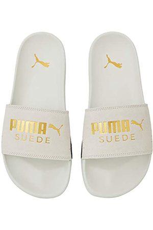 Puma Unisex Adulto Leadcat FTR Suede Classic Zapatos de Playa y Piscina, Blanco (Marshmallow Team 03)