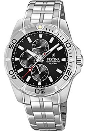Festina Mens Multi dial Quartz Watch with Stainless Steel Strap F20445/3