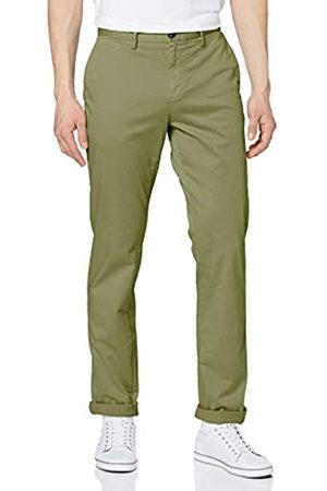 Tommy Hilfiger Herren Denton Th Flex Satin Chino GMD Loose Fit Jeans, Faded Olive