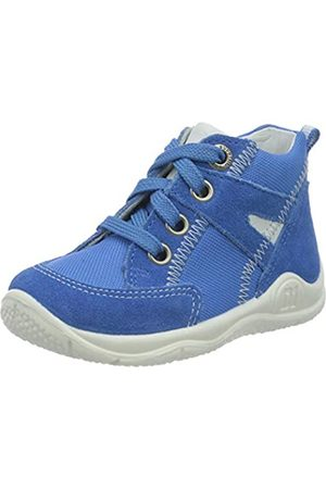 Superfit Baby Boys' Universe Trainers, (Blau/Weiss 81)