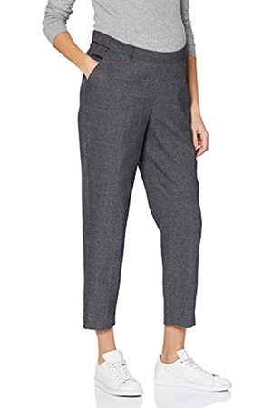 Dorothy Perkins Women's Underbump Pink Check Ankle Grazer Trousers