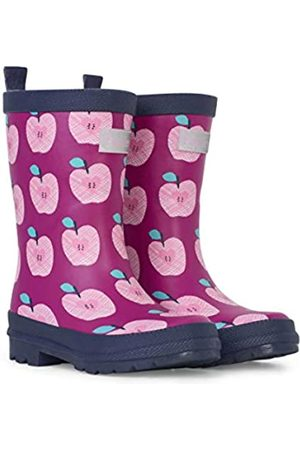 Hatley Girls' Printed Wellington Rain Boots, (Apple Orchard 650)
