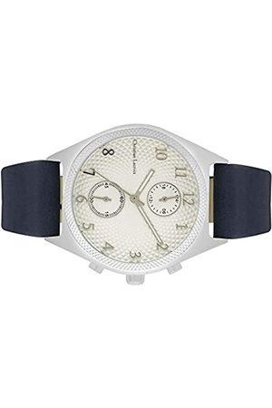 Christian Lacroix Mens Quartz Watch with Leather Strap CLMS1801