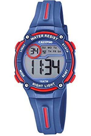 Calypso Boys Digital Quartz Watch with Plastic Strap K6068/4