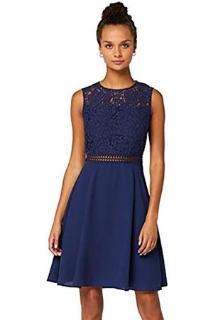 TRUTH & FABLE Amazon Brand - Women's Mini Lace A-Line Dress, 14