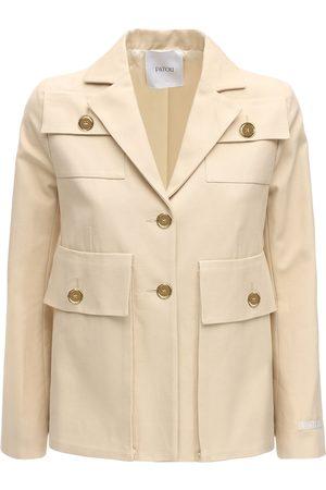 Patou Cotton Panama Jacket