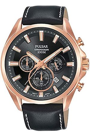 Pulsar Men's Analogue Quartz Watch with Stainless Steel Strap 8431242963686