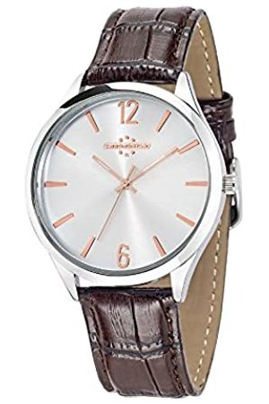 Chronostar Marshall Men's Quartz Watch with Dial Analogue Display and Leather Strap R3751245001