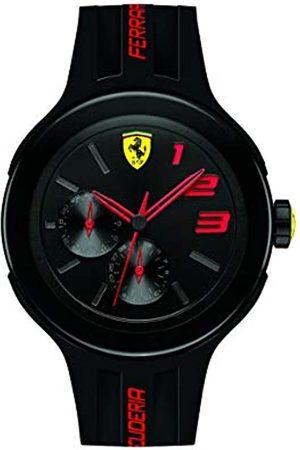 Scuderia Ferrari Men's Watch - Analogue Quartz - Dial - Silicone Strap - 0830223
