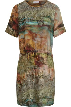 Peter Hahn Dress short sleeves multicoloured size: 10