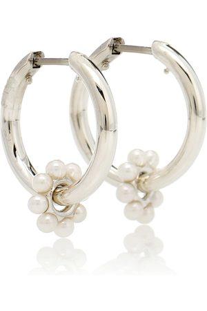 SPINELLI KILCOLLIN Akoya Ara Bloom sterling- earrings with pearls