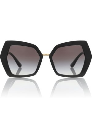 Dolce & Gabbana DG Monogram oversized sunglasses