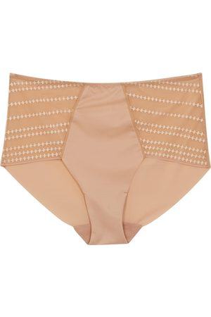 Wacoal Respect Almond Embroidered Briefs