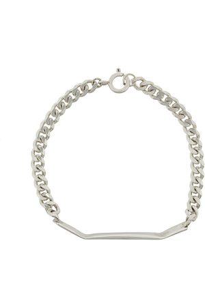 Niza Huang Men Bracelets - Chain and bar bracelet - Metallic