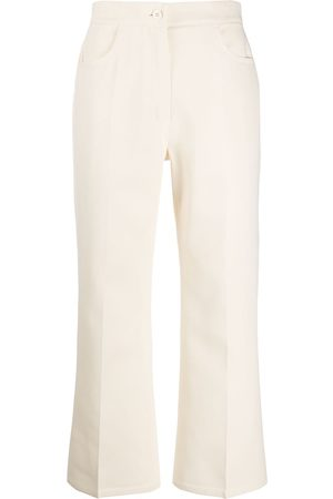 Jil Sander Cropped tailored trousers - Neutrals