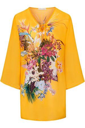 Diane von Furstenberg Women Tunics - Tunic exotic floral motif multicoloured size: 10