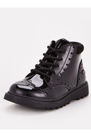 Very Toezone At Younger Girls Chunky Sole Lace Up School Boot