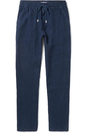 Vilebrequin Men Trousers - Pacha Linen Drawstring Trousers