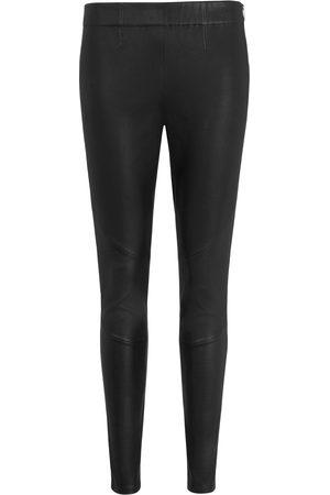 Uta Raasch Women Trousers - Leather leggings size: 12
