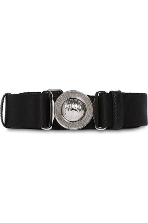 Prada 35mm Grosgrain & Leather Belt