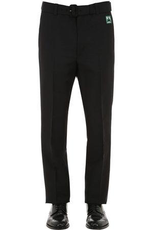 Prada 21cm Mohair Blend Pants