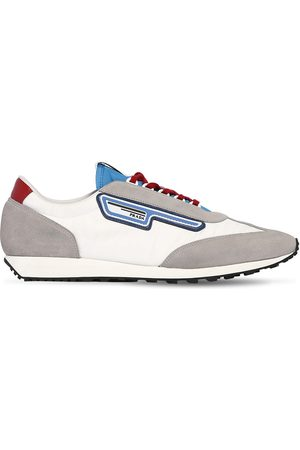 Prada Milano 70 Nylon & Suede Running Sneakers