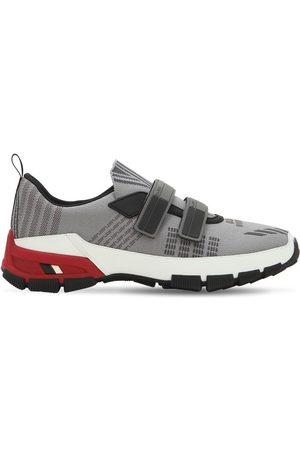 Prada Cross Section Nylon Slip-on Sneakers