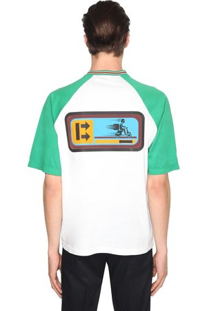Prada Delivery Boy Print Cotton Jersey T-shirt