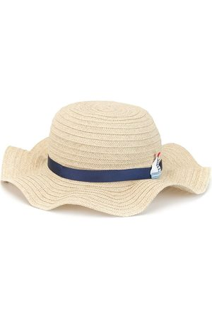 Familiar Wave-brim sun hat - Neutrals