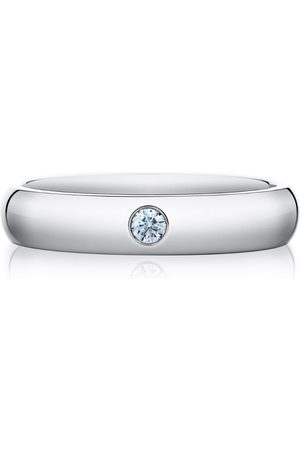 De Beers Classic One Diamond Band (3mm)