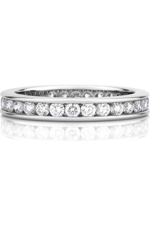 De Beers Platinum and Diamond Eternity Band (3mm)