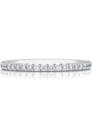 De Beers White Gold and Diamond Aura Ring