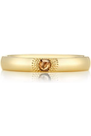 De Beers Yellow Gold Talisman You And Me Ring